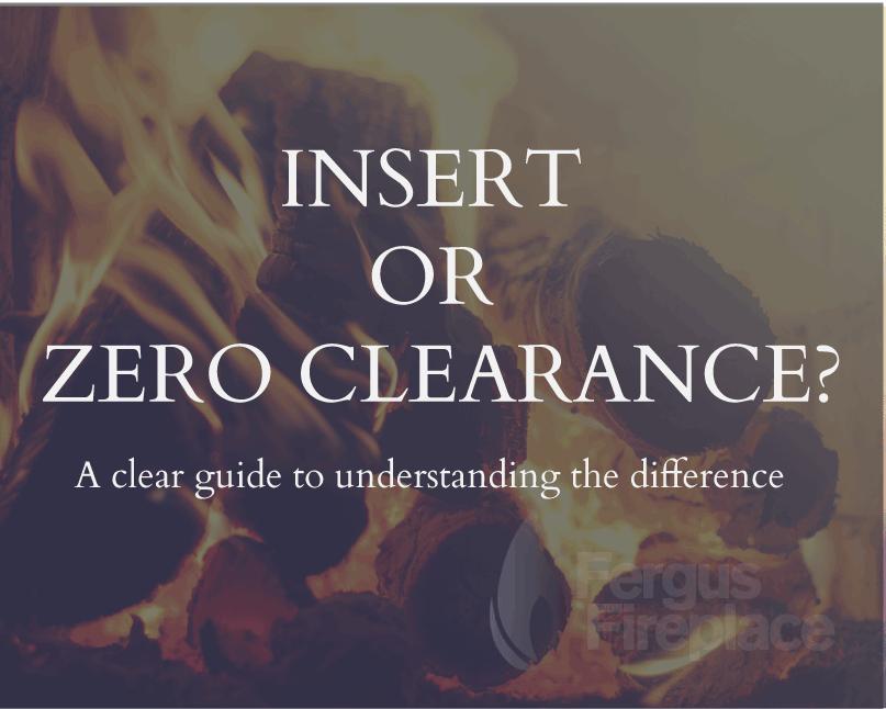 Choosing a Fireplace: Insert or Zero Clearance?