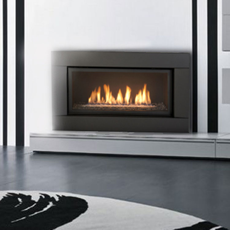 Heat & Glo Mezzo 36, Gas, Zero Clearance Fireplace - Fergus Fireplace
