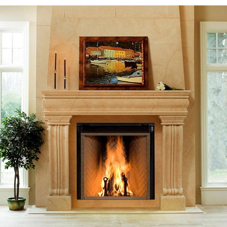 Renaissance rumford 1500 woodburning zero clearance for Fireplace rumford