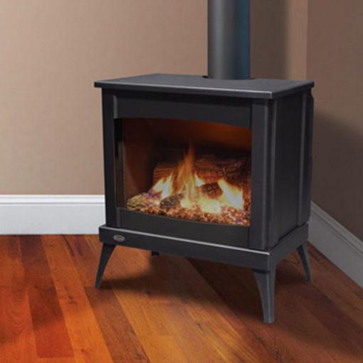 Enviro Westport Steel Gas Freestanding Stove Fergus Fireplace