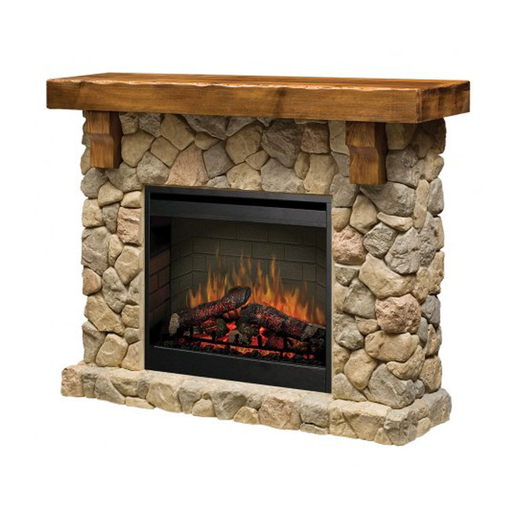 Dimplex Fieldstone Electric Zero Clearance Fireplace