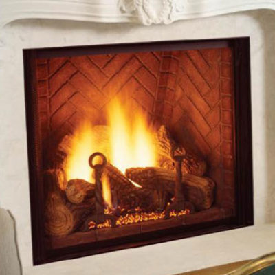 "Majestic 48"" Marquis, Gas, Zero Clearance Fireplace"