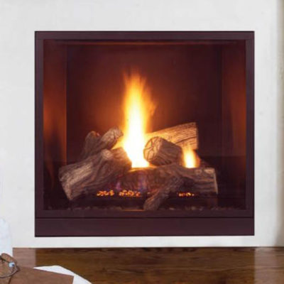 "Majestic 42"" Onyx, Gas, Zero Clearance Fireplace"