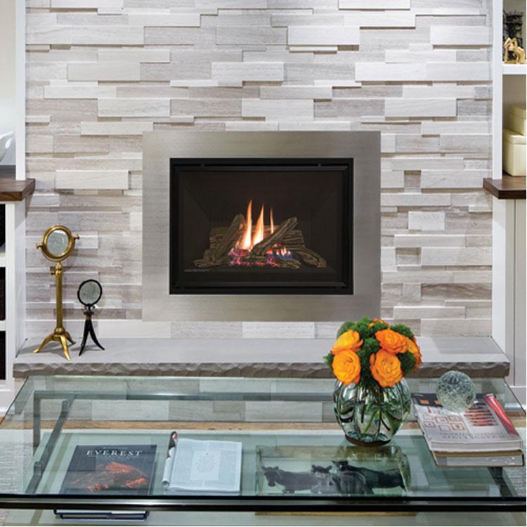 Valor H4, Gas, Zero Clearance Fireplace - Fergus Fireplace