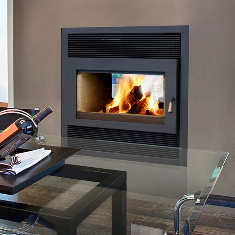 Fireplace Design see thru fireplace : RSF Focus ST See-thru, Woodburning, Zero Clearance Fireplace ...