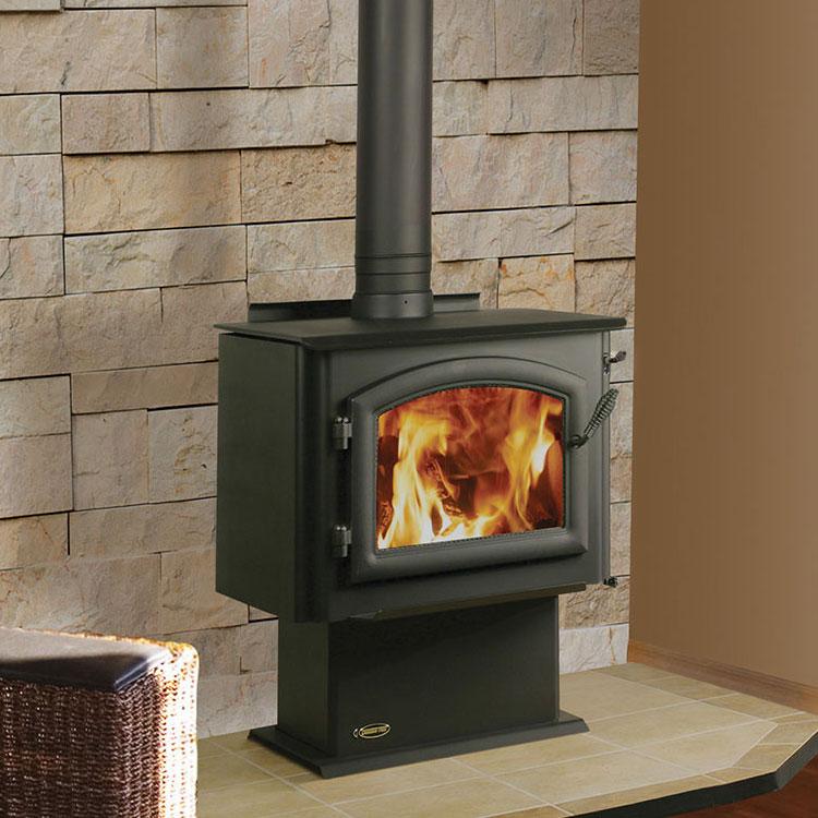 Quadrafire Millennium 4300 Woodburning Freestanding Stove Fergus Fireplace