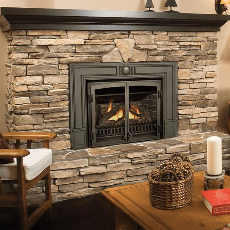 Valor G3 With Fenderfire Double Doors Gas Fireplace