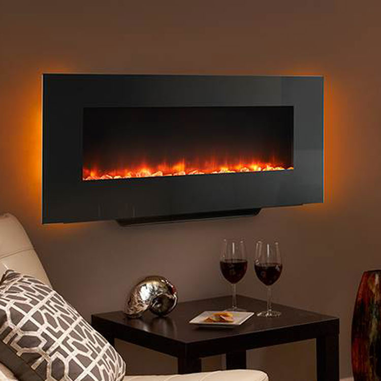 wallmount in linear fireplaces ge greatco mount ger hanging wall fireplace gallery electric