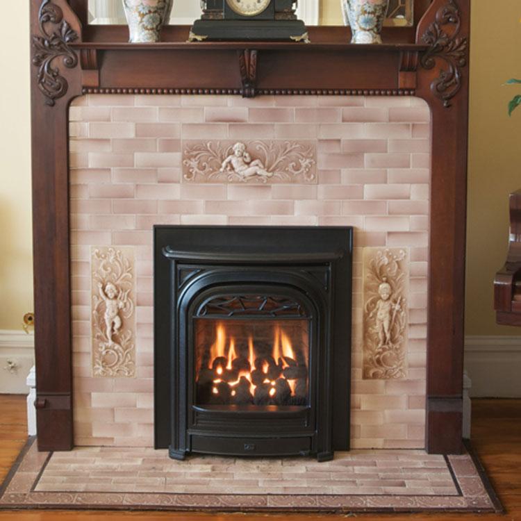Valor Portrait President Front Gas Fireplace Insert
