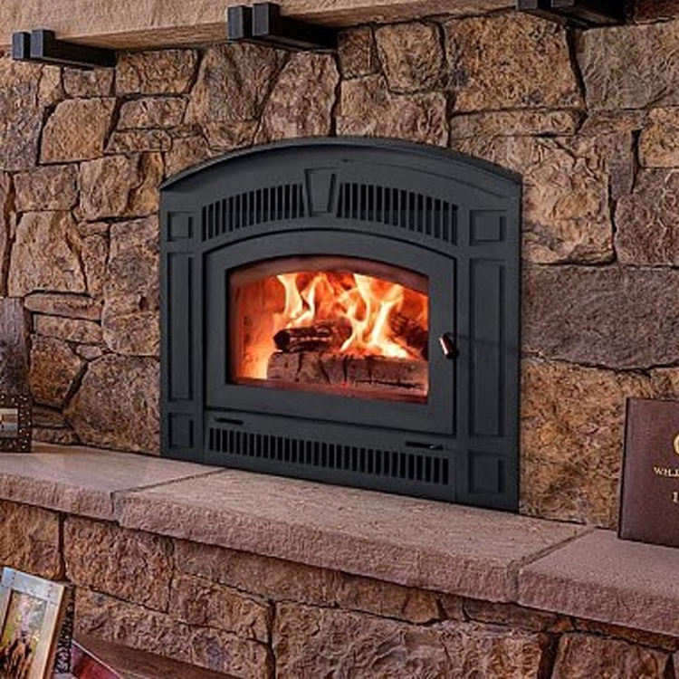 RSF Pearl Woodburning Zero Clearance Fireplace Fergus Fireplace