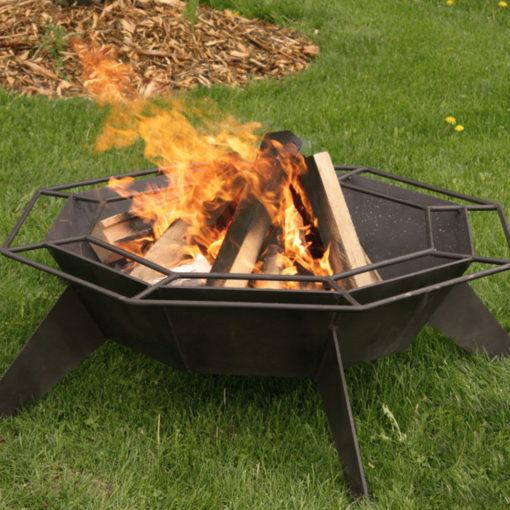 Iron Embers, 3' Cottager, Wood, Firepit