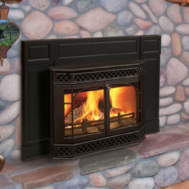 breckwell insert htm fireplace wood inserts p burning