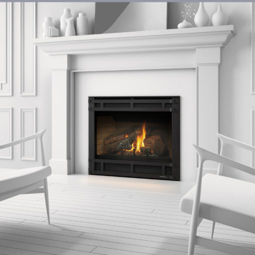 Heat & Glo SL550, Gas, Zero Clearance Fireplace