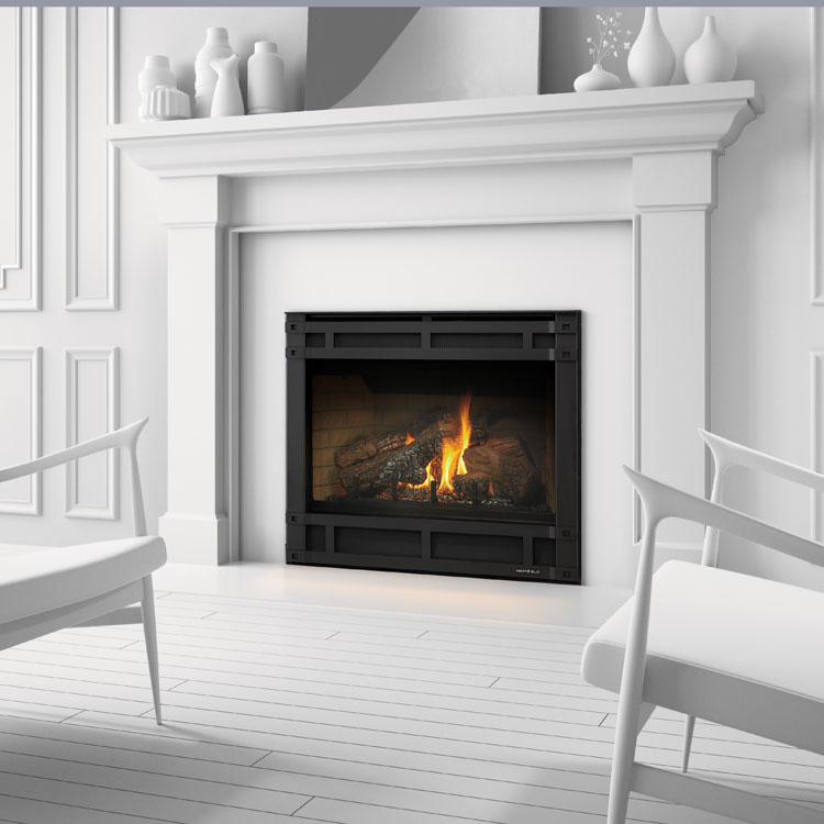 Heat & Glo SL550, Gas, Zero Clearance Fireplace