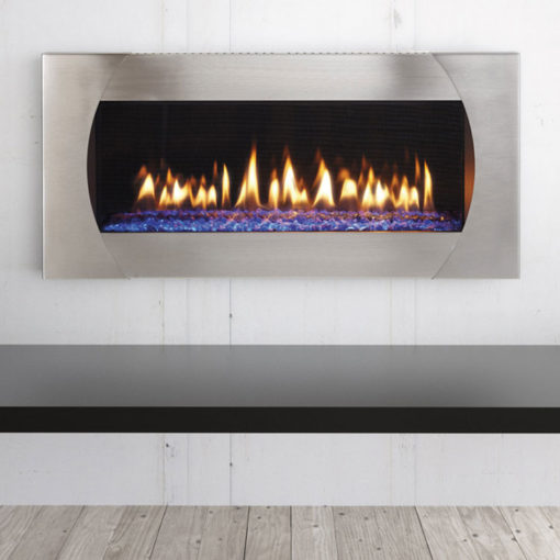 Heat & Glo Mezzo 36, Gas, Zero Clearance Fireplace