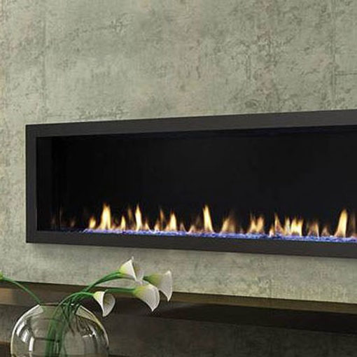 Heat & Glo Mezzo 48, Gas, Zero Clearance Fireplace