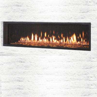 Heat & Glo Mezzo 60, Gas, Zero Clearance Fireplace