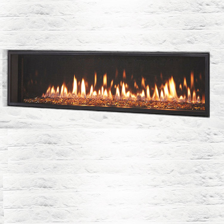 Heat & Glo Mezzo 60, Gas, Zero Clearance Fireplace