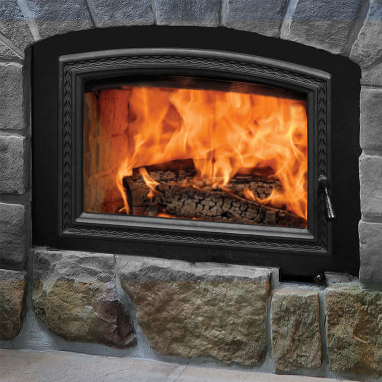 RSF Opel 3, Woodburning, Zero Clearance Fireplace