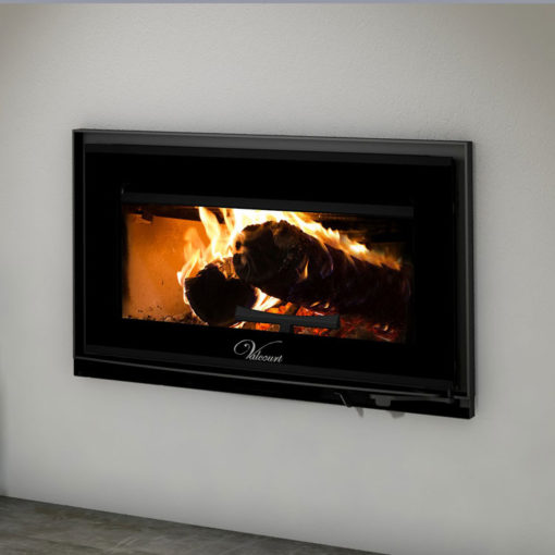 Valcourt FP12 Mundo, Woodburning, Zero Clearance Fireplace