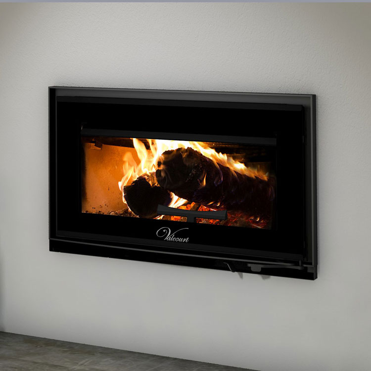 Valcourt FP12 Mundo, Woodburning, Zero Clearance Fireplace