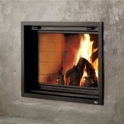Valcourt FP7 Antoinette, Woodburning, Zero Clearance Fireplace
