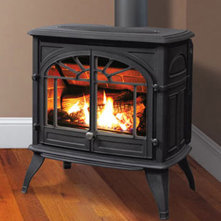 Enviro Westport Cast Iron Gas Freestanding Stove Fergus Fireplace