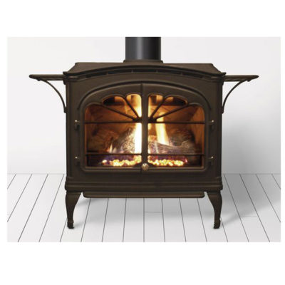 Heat & Glo Tiara II, Gas, Freestanding Stove