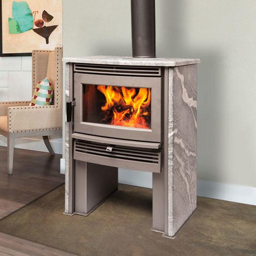Pacific Energy Neostone 2.5, Woodburning, Freestanding Stove