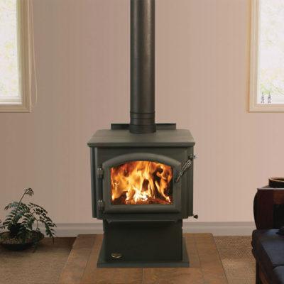 QuadraFire Millenium 2100, Woodburning, Freestanding Stove