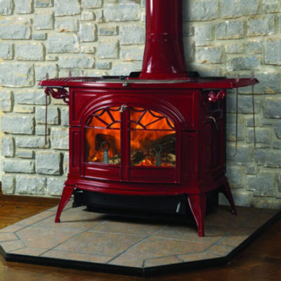 Vermont Castings Defiant 2-in-1 Flexburn, Woodburning, Freestanding Stove