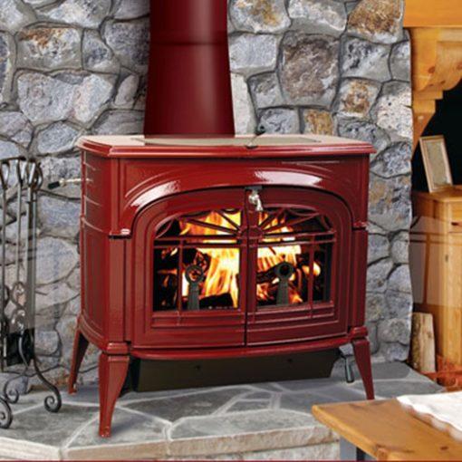 Vermont Castings Encore 2-in-1 Flexburn, Woodburning, Freestanding Stove