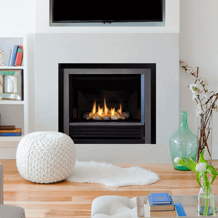 Valor Horizon With Clearview Front Gas Zero Clearance Fireplace Fergus Fireplace